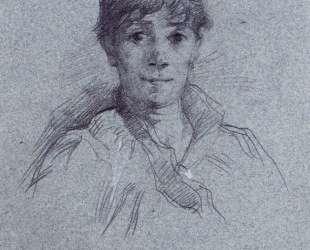Portrait of a Woman — Анри де Тулуз-Лотрек