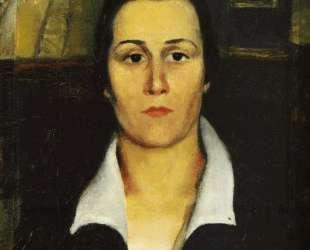 Женский портрет — Казимир Малевич