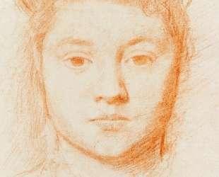 Портрет женщины — Эдгар Дега