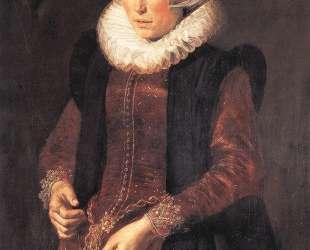 Portrait of a woman — Франс Халс