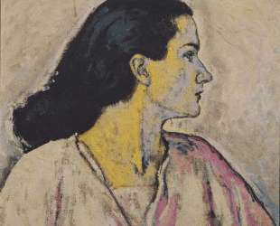 Portrait of a Woman in Profile — Коломан Мозер