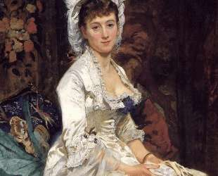 Portrait of a Woman in White — Ева Гонсалес
