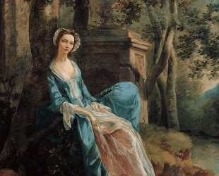 Portrait of a Woman (possibly of the Lloyd Family) — Томас Гейнсборо