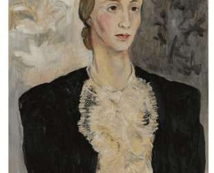 Portrait of a woman (Tatiana Ryabushinskaya) — Наталья Гончарова