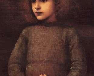 Портрет мальчика — Эдвард Бёрн-Джонс