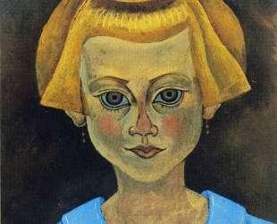 Portrait of a Young Girl — Жоан Миро