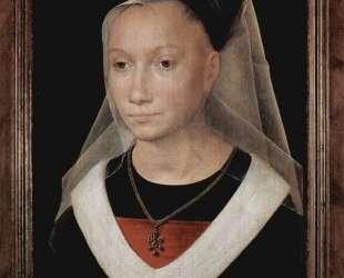 Портрет молодой женщины — Ганс Мемлинг