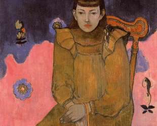 Портрет молодой женщины, Вет-Жан Гупиль — Поль Гоген