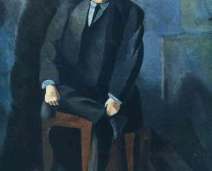 Портрет Адольфа Баслера — Моис Кислинг