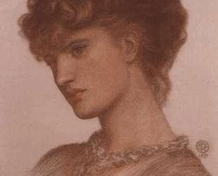 Portrait of Aflaia Coronio — Данте Габриэль Россетти