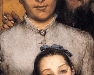 Портрет Жюля Далу, его жены и его дочери — Лоуренс Альма-Тадема