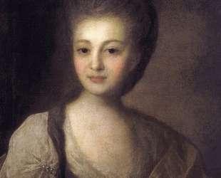 Portrait of Alexandra Struiskaya — Фёдор Рокотов