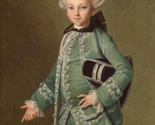 Portrait of Alexey Bobrinsky as a Child — Карл Людвиг Христинек