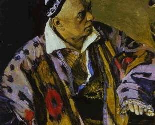 Portrait of Alexey Shchusev — Михаил Нестеров