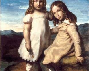 Portrait of Alfred and Elizabeth Dedreux — Теодор Жерико