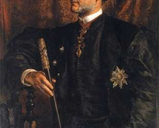 Portrait of Alfred Potocki — Ян Матейко