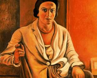 Portrait of Alice Derain — Андре Дерен