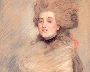 Portrait of an Actress in Eighteenth Century Dress — Джеймс Тиссо