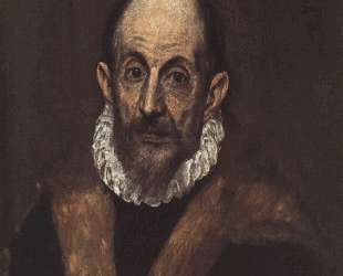 Портрет пожилого мужчины (предположительно, автопортрет Эль Греко) — Эль Греко