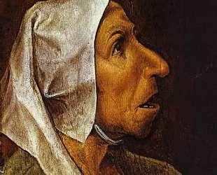 Портрет старухи — Питер Брейгель Старший