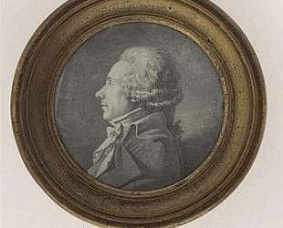 Портрет неизвестного, бюст, левый профиль — Жан Огюст Доминик Энгр