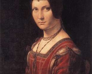 Portrait of an Unknown Woman (La Belle Ferroniere) — Леонардо да Винчи