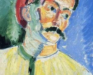 Portrait of Andre Derain — Анри Матисс
