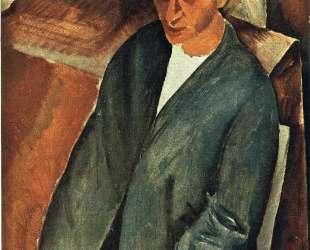 Портрет Анри Сальмона — Моис Кислинг