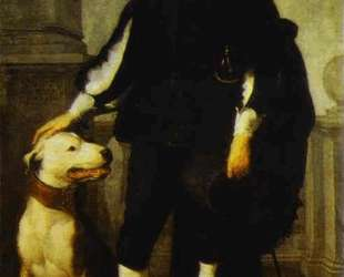 Portrait of Andres de Andrade-i-la Col — Бартоломе Эстебан Мурильо
