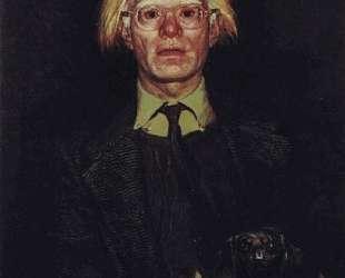 Portrait of Andy Warhol — Джейми Уайет