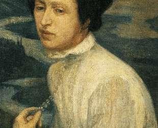 Portrait of Angelina Beloff — Диего Ривера