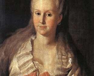 Portrait of Anna Muravyova — Карл Людвиг Христинек