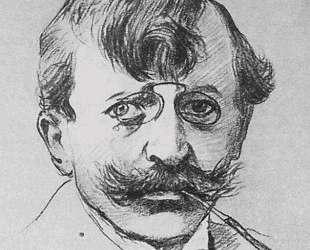 Портрет художника Антона Ашбе — Игорь Грабарь