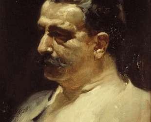 Portrait of Antonio Elegido — Хоакин Соролья