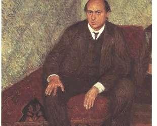 Portrait of Arnold Schonberg — Рихард Герстль