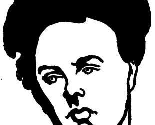 Portrait of Arthur Rimbaud — Феликс Валлотон