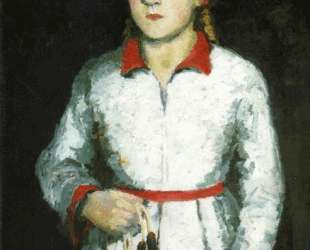 Портрет дочери художника — Казимир Малевич
