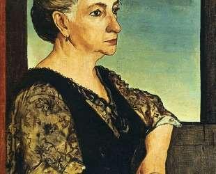 Портрет матери художника — Джорджо де Кирико