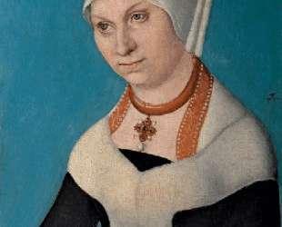 Портрет Барбары, герцогини Саксонии — Лукас Кранах Старший