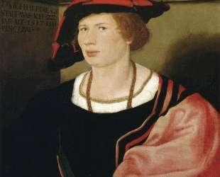 Portrait of Benedikt von Hertenstein — Ганс Гольбейн Младший