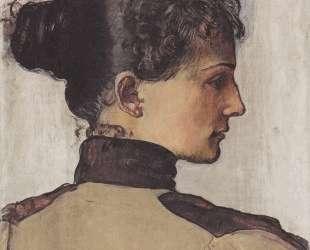 Portrait of Berthe Jacques — Фердинанд Ходлер