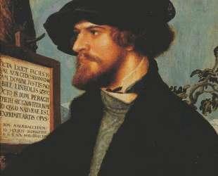 Portrait of Bonifacius Amerbach — Ганс Гольбейн Младший