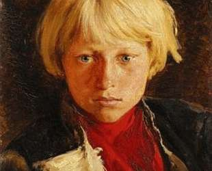 Portrait of boy — Клавдий Лебедев