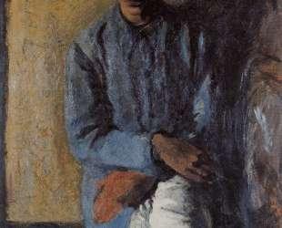 Portrait of Brother Ettore — Марио Сирони