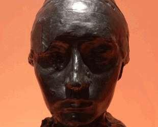 Portrait of Camille Claudel with a Bonnet — Огюст Роден