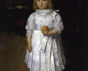Portrait of Cara — Джулиан Олден Вейр