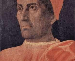 Portrait of Cardinal Carlo de' Medici — Андреа Мантенья