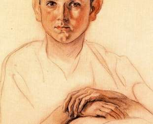 Portrait of Carlos Saenz de Tejada Benvenuti — Карлос Саенс де Техада