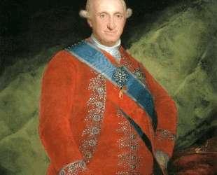 Portrait of Charle IV of Spain — Франсиско де Гойя