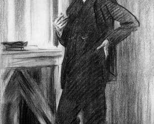Portrait of Charles Martin Loeffler — Джон Сингер Сарджент